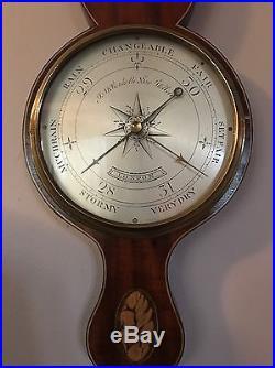 1780-1790 John Merry Ronketti Barometer