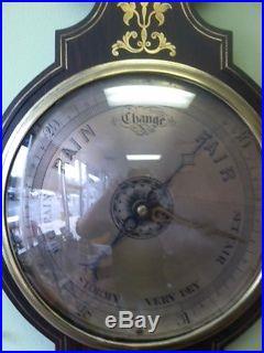 1830's English Banjo Barometer