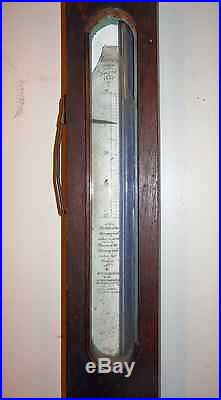 1857 Timby's Patent Stick Barometer Rosewood