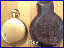 1885-1888 Pocket Altimeter- Baromiter Marshutz Optical Co. LA, California