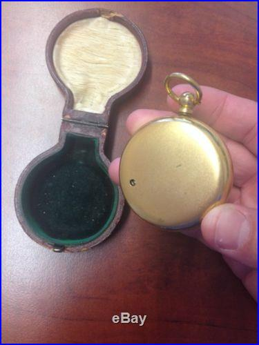 1890'S Short & Mason Compensated Tycos Barometer