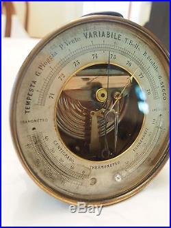 1890s Italian Barometer