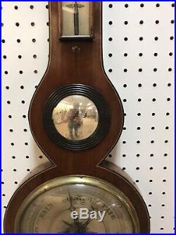 18th Century Scottish Banjo Barometer