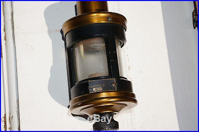 1910 Antique Mercury Stick Barometer TYCOS Taylor Instruments Wood Box RESTORE