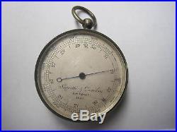 1931 Negretti and Zambra Barometer Altimeter