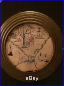 19TH CENTURY MAHOGANY BAROMETER 10 x 37! Estate Find