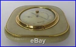 19c. Antique German Barometer Hygrometer Marked