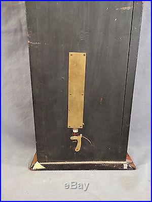 19thC Antique VICTORIAN Era ADMIRAL FITZROY Old WALL WEATHER Station BAROMETER