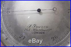 19th CENTURTY BAROMETER in CASE F. PEARCE LONDON