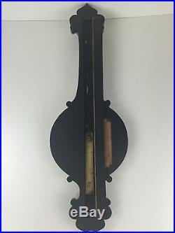 19th Century Rosewood Mercurial Wheel Barometer