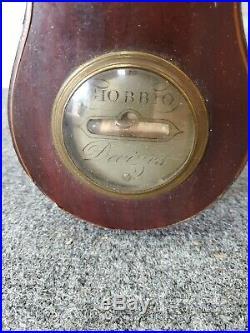 19th century Barometer, Giobbio Devizes barometer