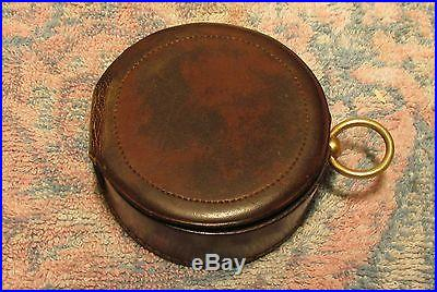 Antique lietz co of san francisco brass barometer for Buy reclaimed wood san francisco
