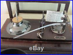 ANTIQUE TAYLOR INSTRUMENT COMPANY STORMOGRAPH and CHARTS