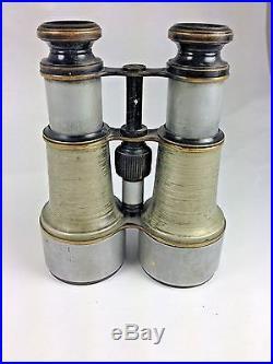 Antique Victorian Rare J Hicks London 1903 Maritime Binoculars #179