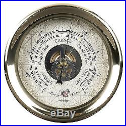AUTHENTIC MODELS Captains Barometer Wall Weather Instrument Antique Reproduction