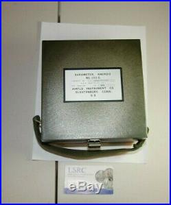 Airflo Instrument Co. Millibars Barometer Ml-102-g Super Nice