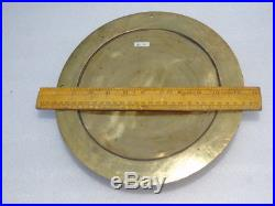 All Brass Huge 10.5 Inches England Ships Aneroid Marine Boat Weather Barometer