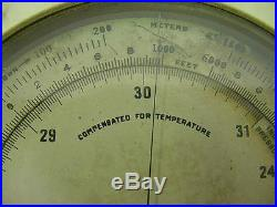 Altitude barometer Taylor Instrument Co. E. D. No. 705