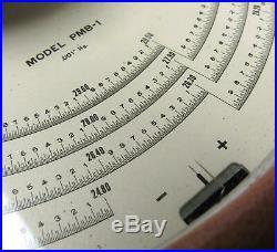 American Paulin System PMB-1 Vintage Precision Micro Barometer In Case