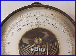 An Early EBERBACH Holosterik (Aneroid) Barometer, Nautical, Ann Arbor Michigan