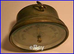 Aneroid barometer Tycos of London Andrew J Lloyd England 5.25 inch case