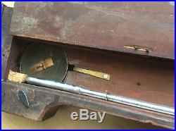 Antique 1822 ENGLISH WHEEL BANJO BAROMETER FOR RESTORATION