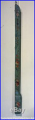 Antique 18th C. Painted and Decorated French Portable Barometer