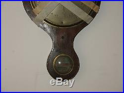 Antique 18th Century English Banjo Wall Barometer Chadburn Bros As Found RARE