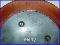 Antique 19C Belgian Utrecht Spring Mechanism Hallmarked Barometer, D. Dial 11 cm