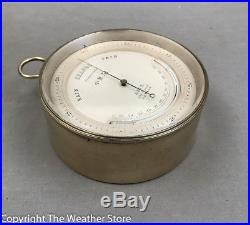 Antique 19th C. Barometer Thermometer by Adie, London