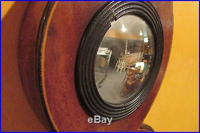 Antique 19th C Ferguson Elgin Weather Station /Barometer, Thermometer. Mahoganhy
