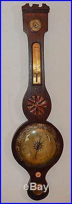 Antique 37 Banjo Barometer To Restore Circa early 1800's