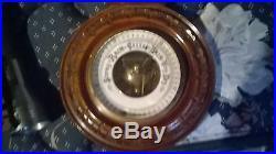 Antique 42 Banjo Style Wall Barometer, has damages needs repair