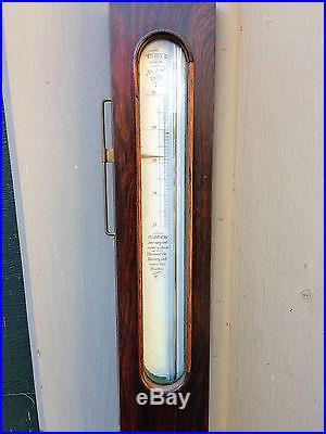 Antique American Stick Barometer