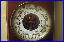 Antique Aneroid Barometer 19th Century English Made Marked T. A. R. L