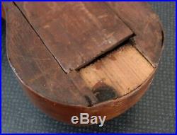 Antique Banjo Barometer J. Predary England Mahogany 38 ca. 1800 not functioning