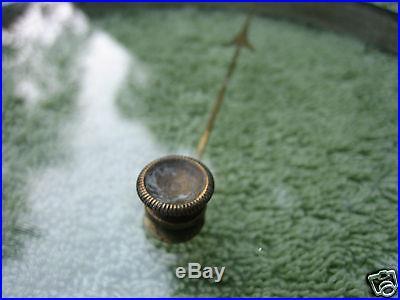 Antique Barometer Brass and Glass Bezel