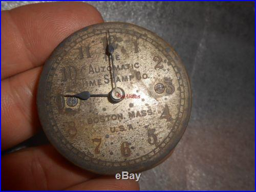 Antique Barometer Dial James Gatty N 132 Holborn London 8 1/2