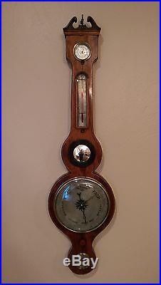 Antique Barometer English 18th Century Sudbury Excellent condition