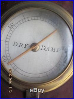 Antique Barometer L Scola Guildford for restoration