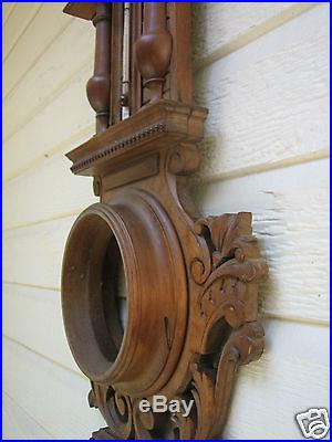 Antique Barometer and Thermometer Body