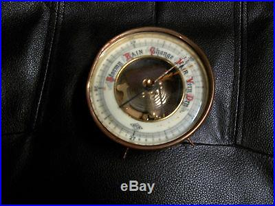 Antique Brass Barometer