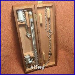 Antique Brass Brass Deep Sea Thermometer by Negretti and Zambra London England