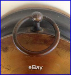Antique Brass Hall Whitby Barometer Thermometer Rare 19th Century 100% Working