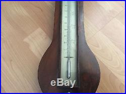 Antique British 1820 Barometer G. Rossi