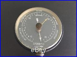 Antique C. P. Goerz Mystery Desk Barometer