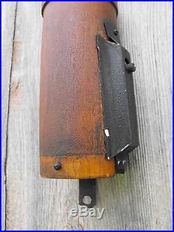 Antique C. Wilder New Hampshire Woodruffs Patent 1860 Stick Barometer Original