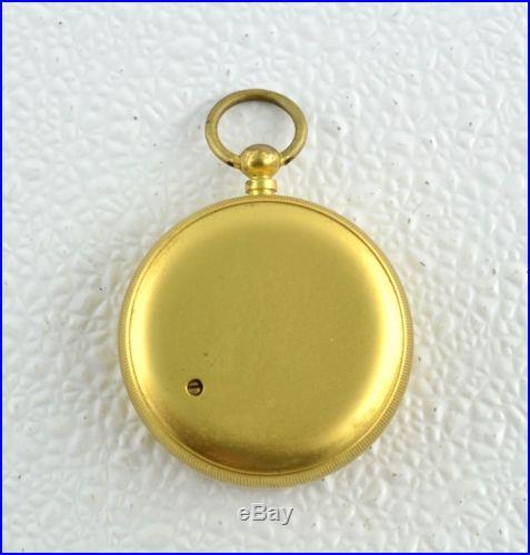 Antique Cased Pocket Compensated Barometer / Altimeter Made in England