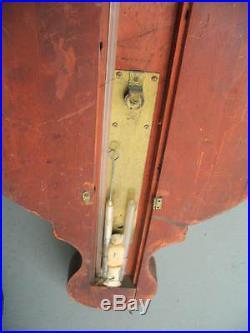 Antique English Barometer Restoration Project Joseph Somalvico & Son Holborn OLD