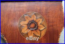 Antique English Sheraton Style Wheel Barometer J. Selua & Co. Ca. 1820